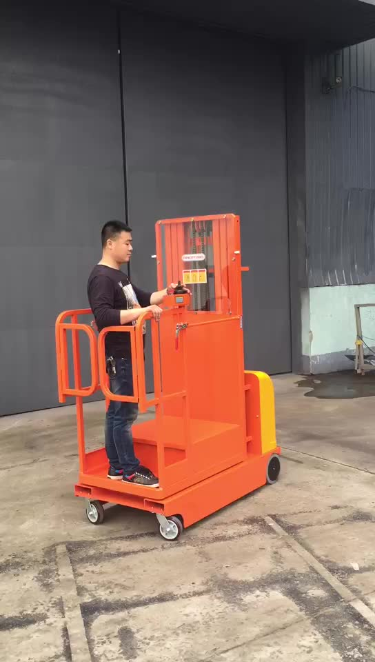300kg Fully Powered Self Propelled Electric Order Picker