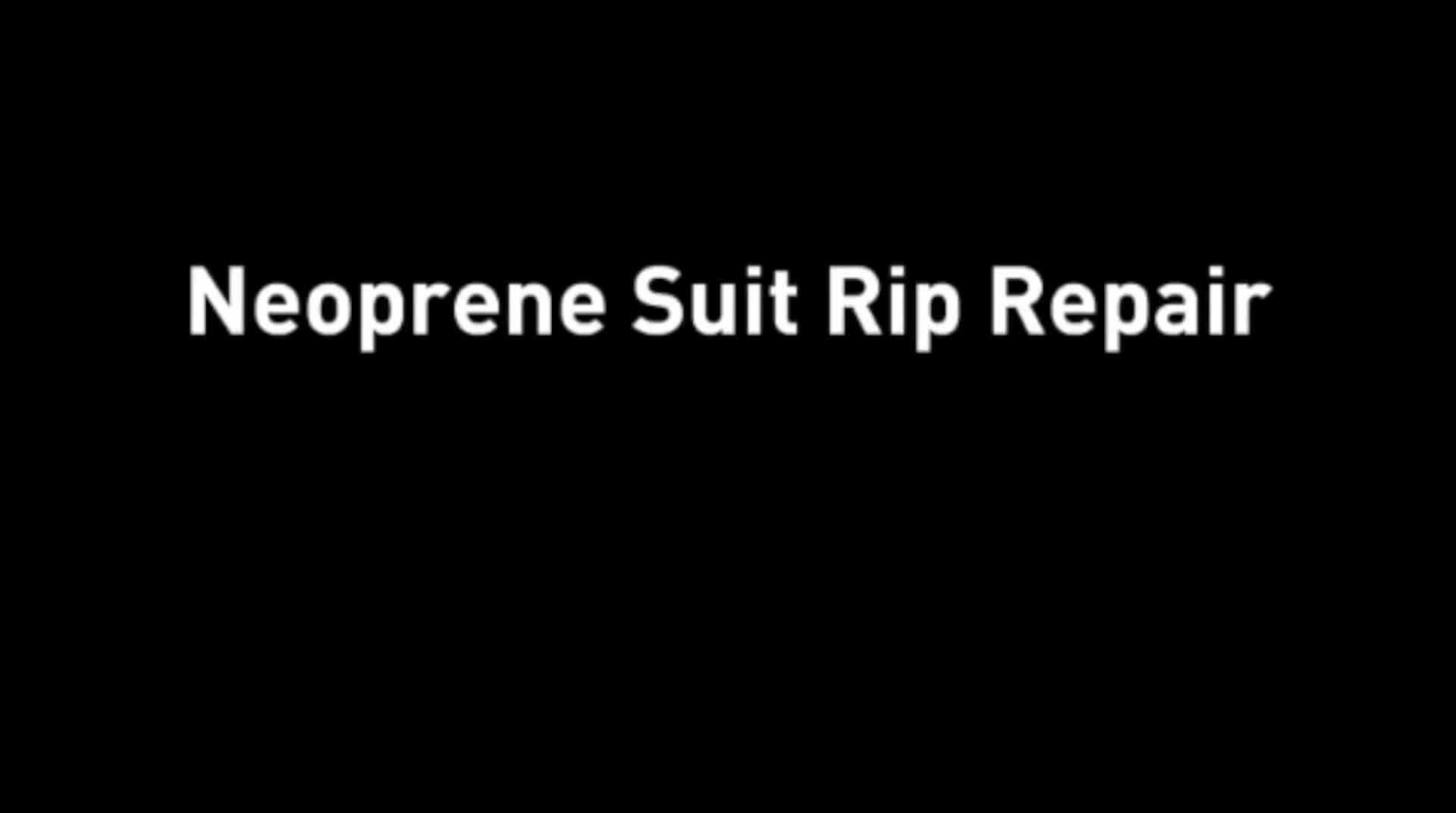 Heavy duty neoprene sealant diving suit repair kit