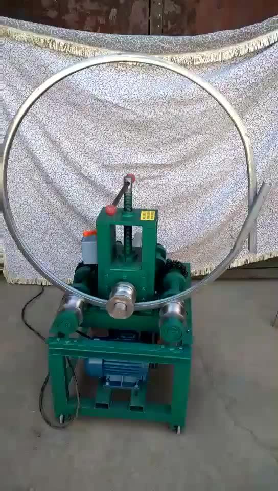 Multi-function hydraulic press bending machine round square pipe bending machine small - sized greenhouse pipe bending machine