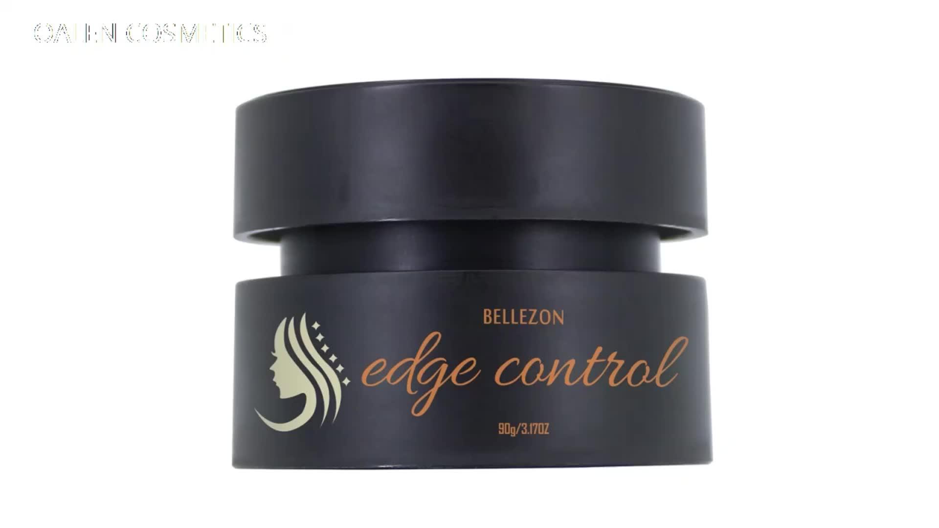 Pomada de cera profesional Extra Hold Control de borde de pelo para mujeres