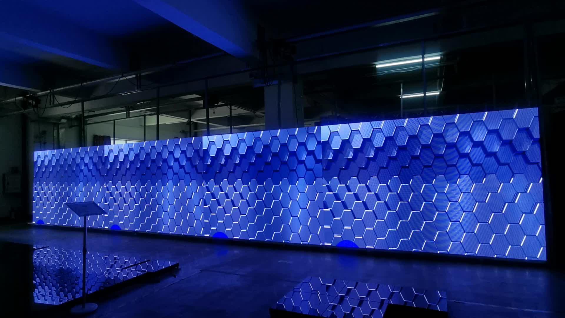 إضاءة ليد من الصيني لوحة شاشة عرض الفيديو الجدار شاشة led خارجية مقطورة