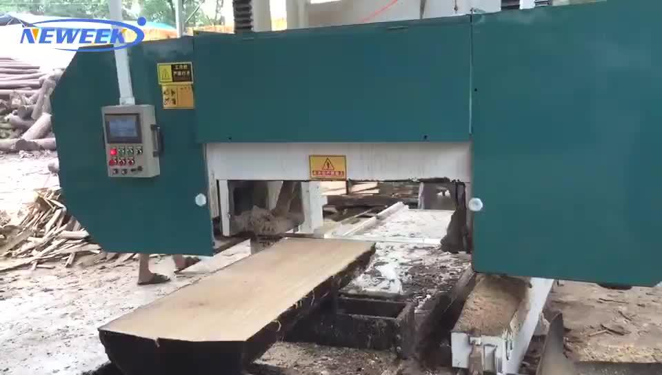 NEWEEK sawmill use automatic horizontal wood band saw cutting machine