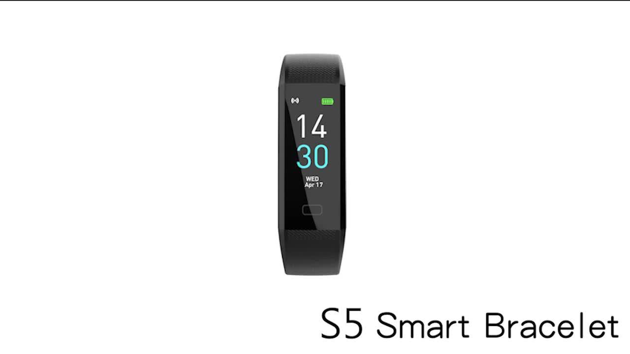 2020 Amazon Hotselling Smart Inseguitore di Fitness Watch Band con Messaggio di Promemoria, Impermeabile IP68 Braccialetto Intelligente