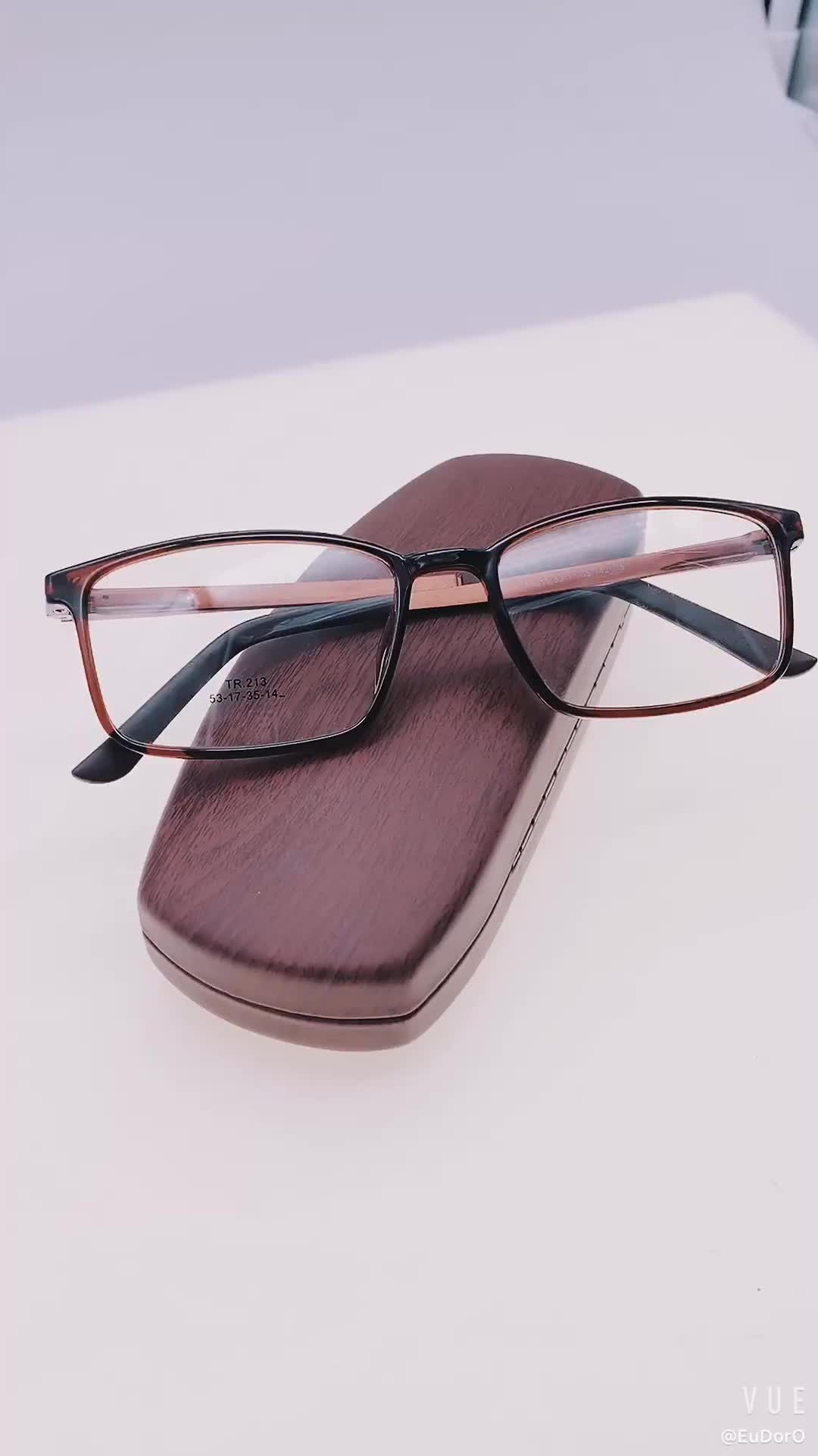 Wholesale Custom Eyeglass Frames Classical Optical Glasses Frame Aluminum Temple Eyewear Spectacles Eye Glass 2020