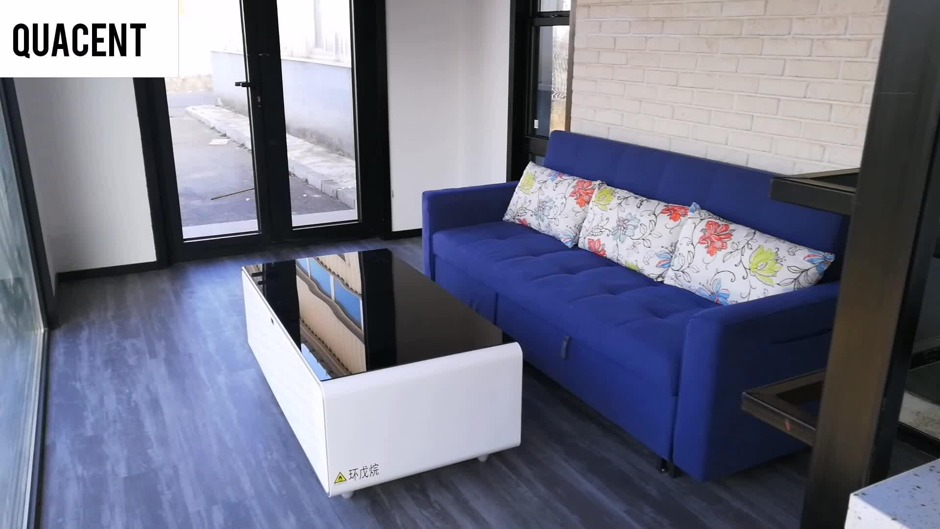 Quacent 럭셔리 모바일 작은 홈 작은 집 빌라 조립식 홈 맞춤형 구조 조립식 부동산 코티지 헛 아파트