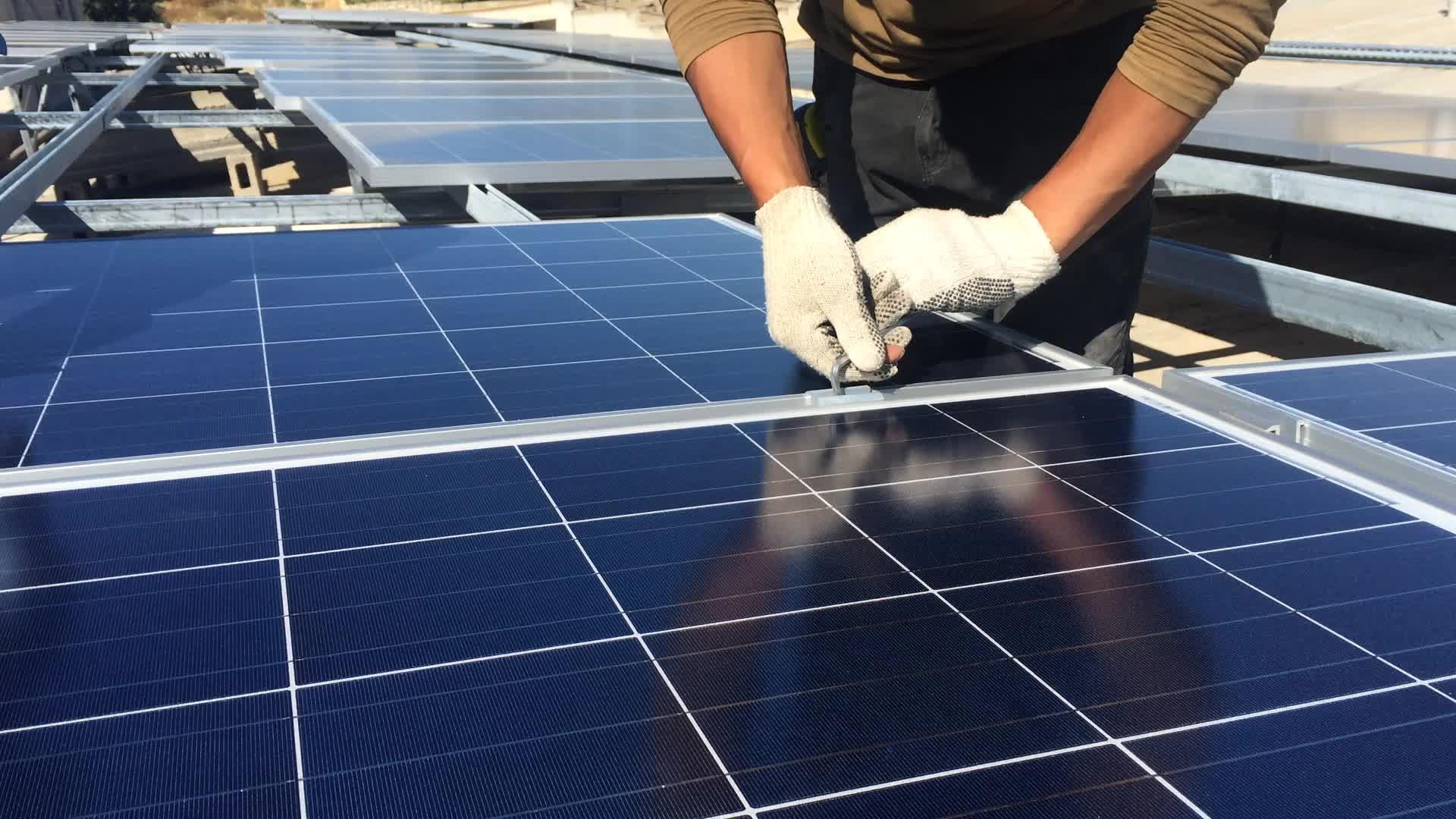 Fácil instalação renovável 2000 w preço sistema de energia solar para o paquistão