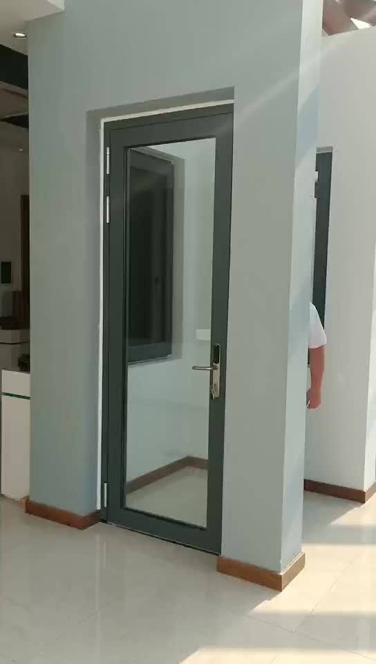 Soundproof french glass interior doors