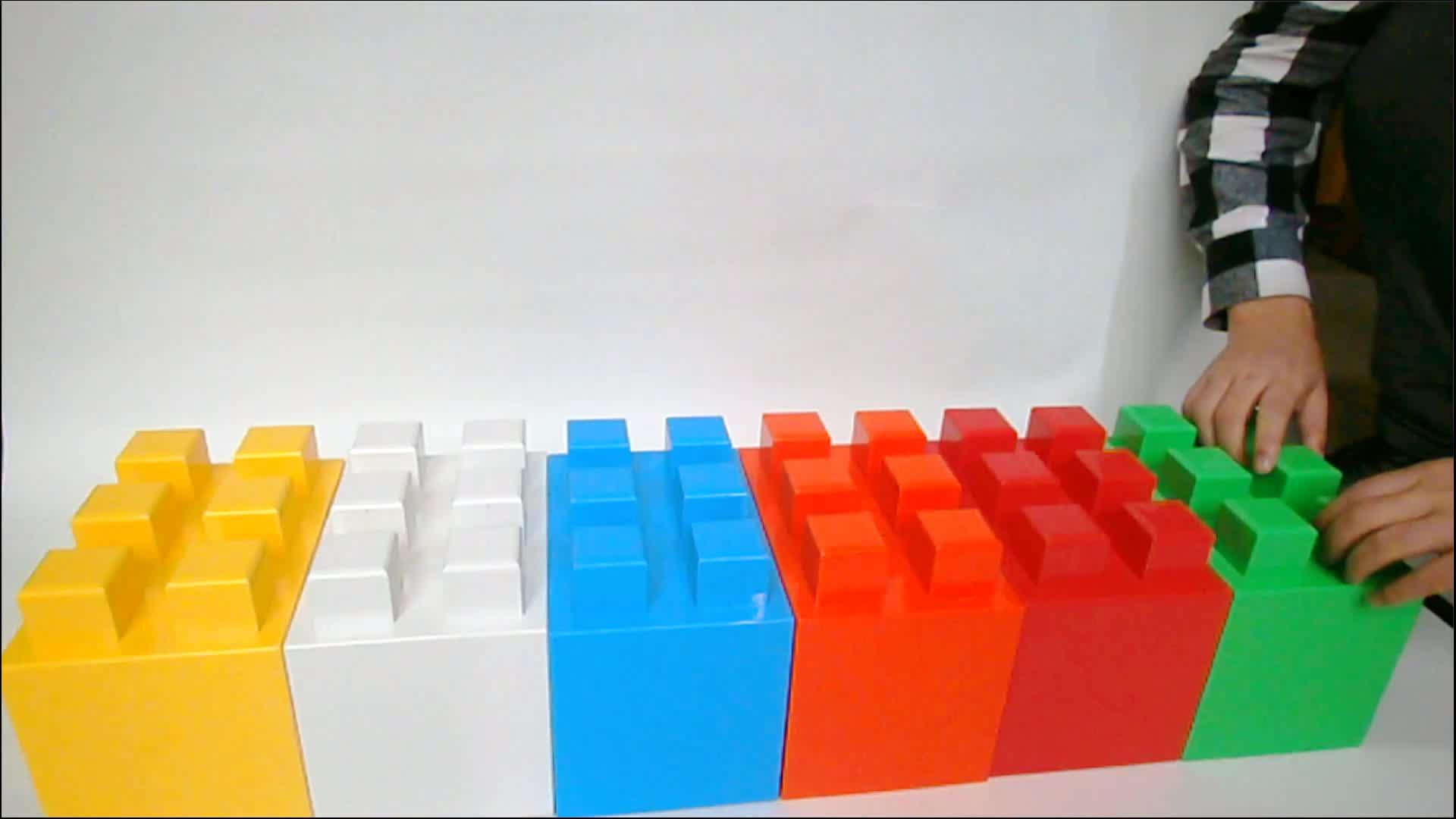 Groothandel verkoop nieuwste plastic outdoor blokken trap stappen