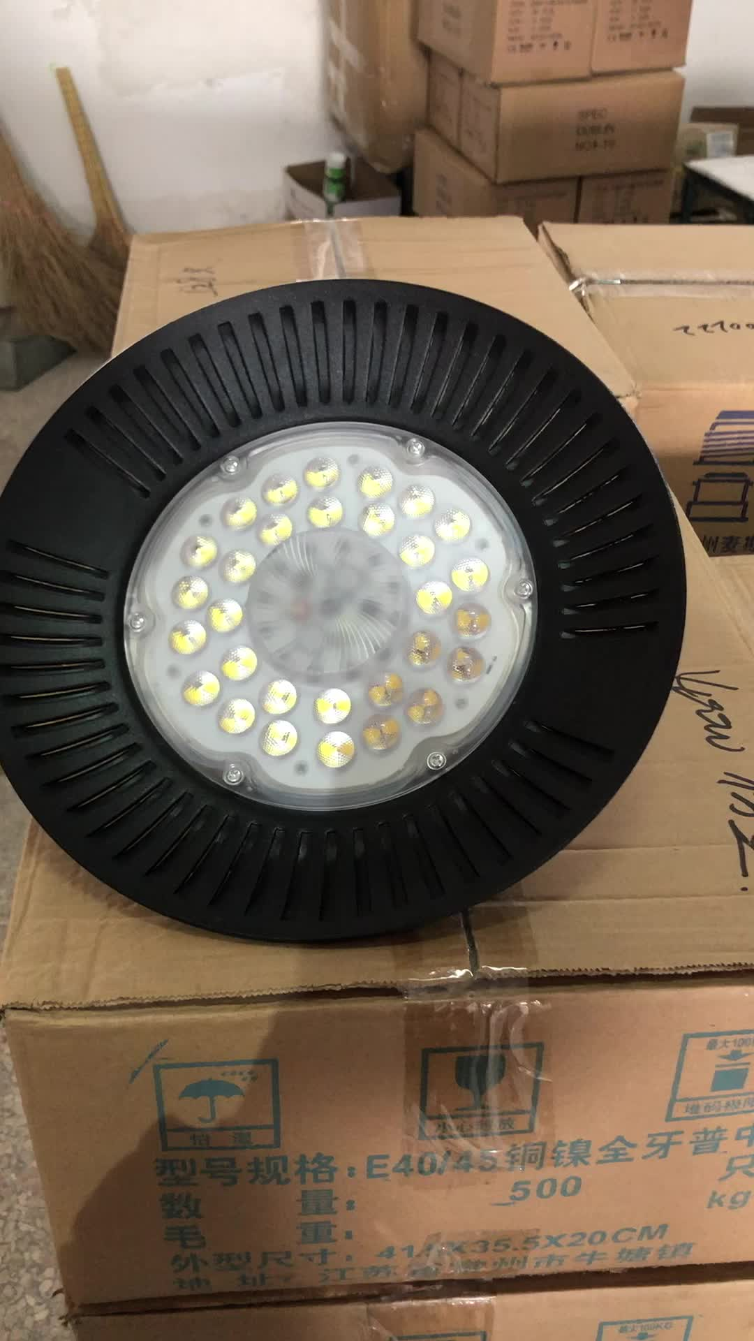 100w 150w 200w linear UFO led high bay light for warehouse with good price