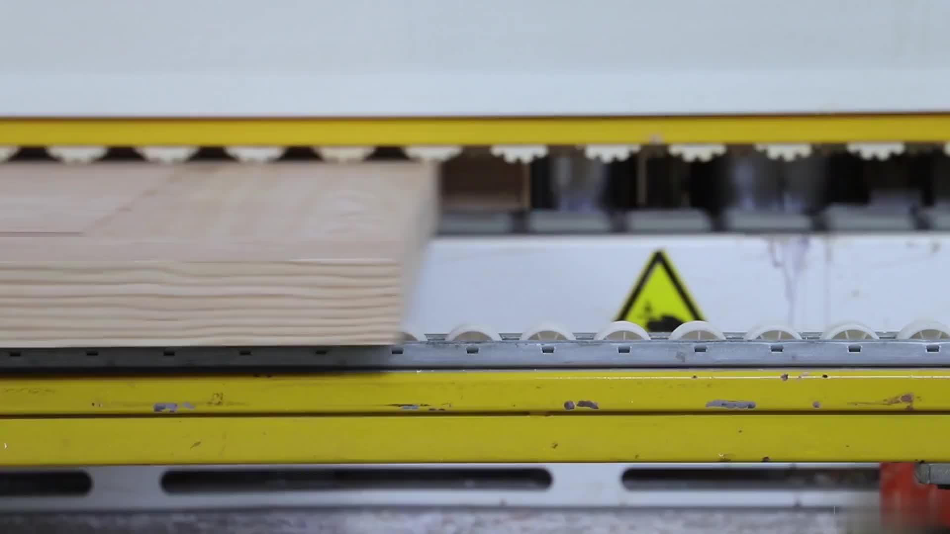 Modern Design Gebogen Massief Hout Multiplex PVC Binnendeur In USA