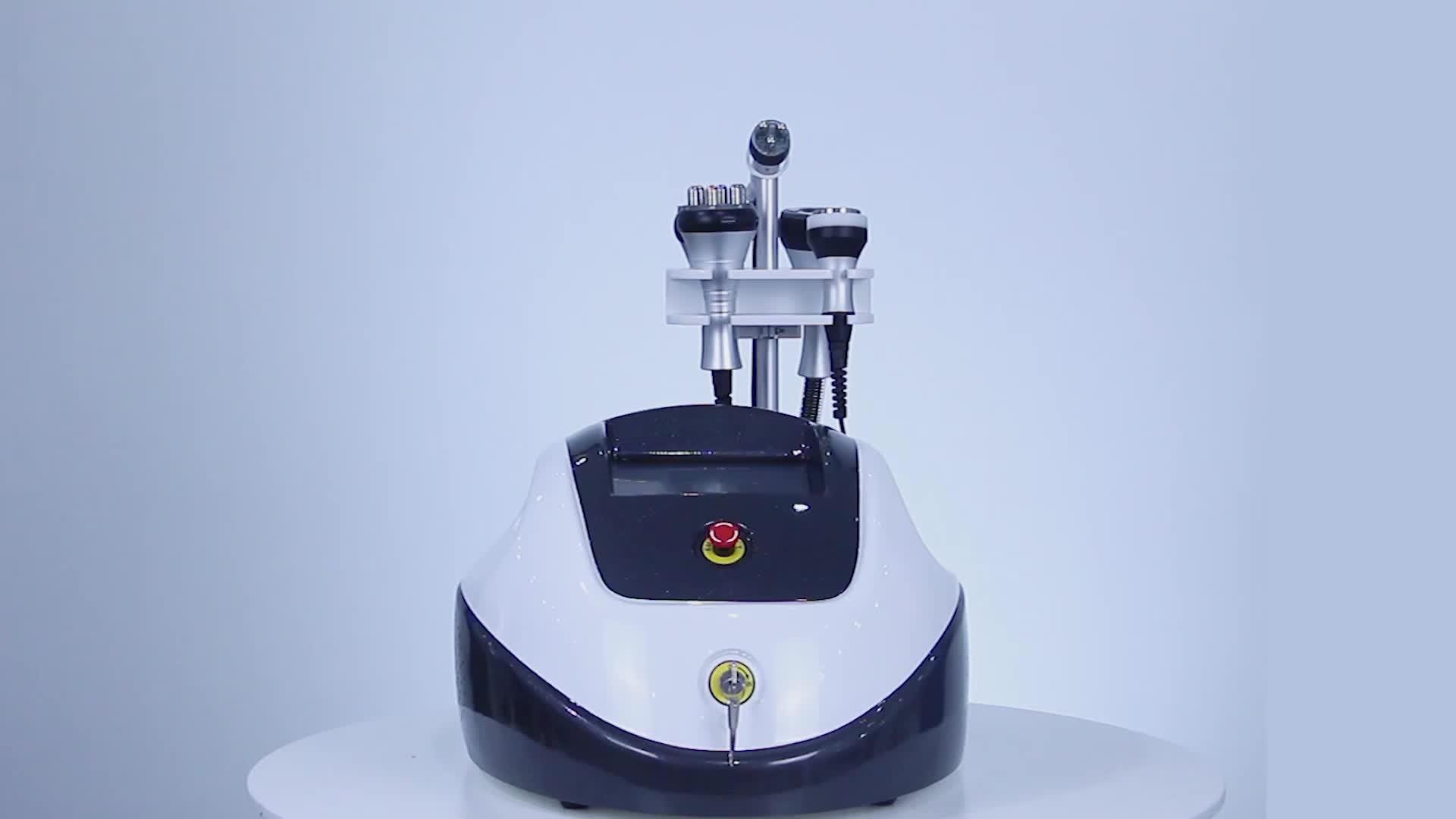 Многофункциональный для похудения жира удаление вакуума Кавитация 5 в 1 RF сжигание жира машина