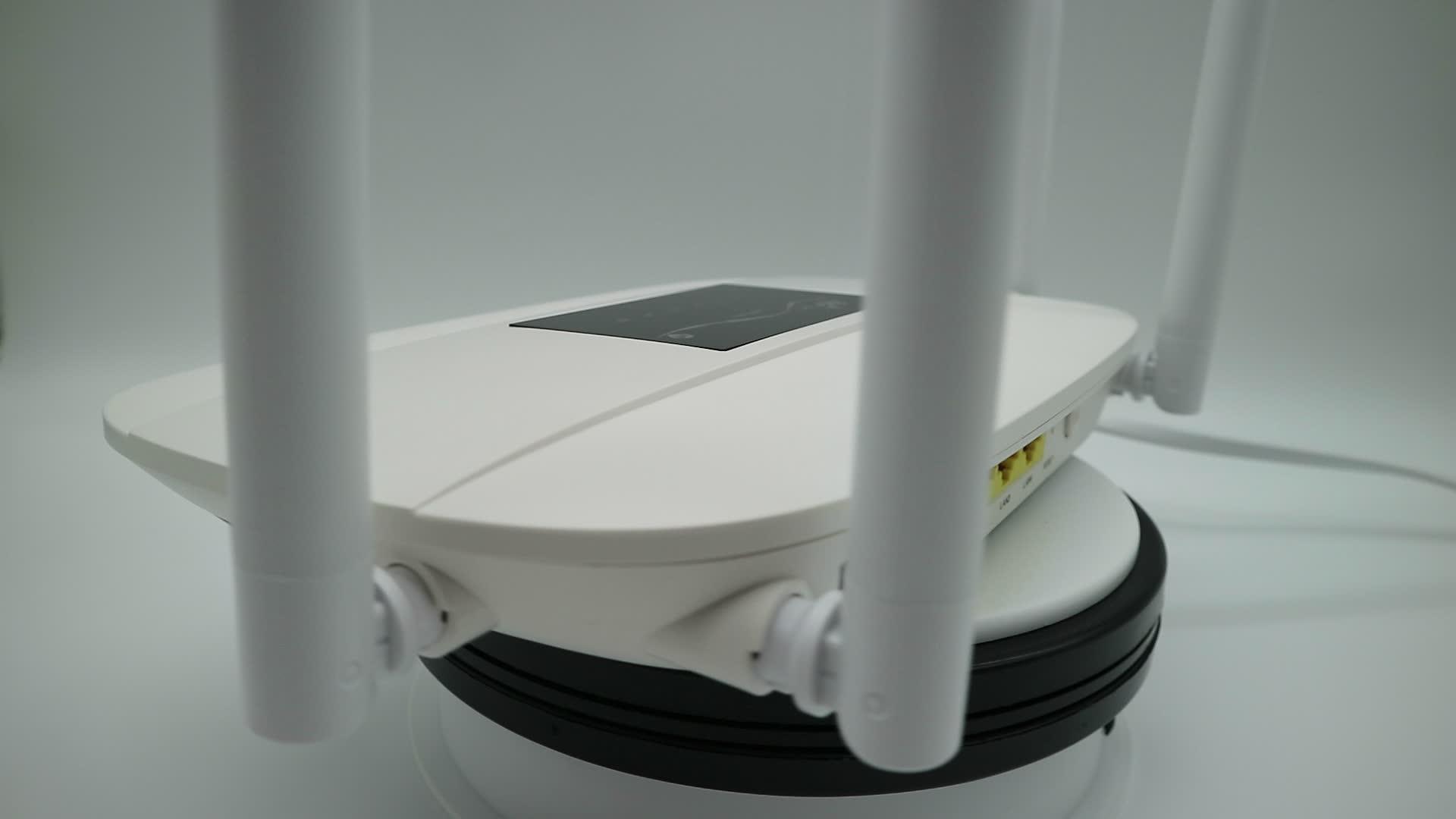4 グラム lte モデム無線 lan cpe ルータと sim カードスロットと rj45
