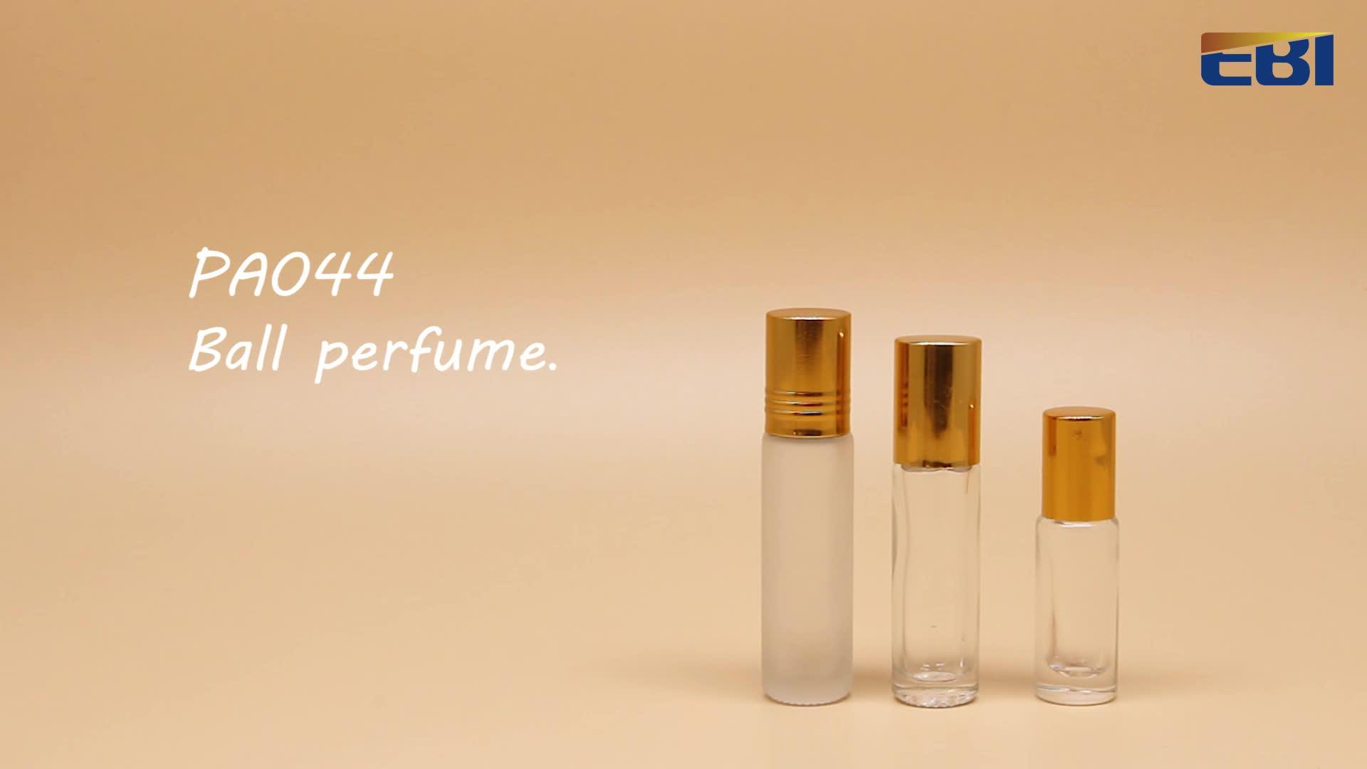 Óleo Essencial de Venda quente Atomizador Perfume Vazio Garrafas De Vidro Roller Ball para Aromaterapia