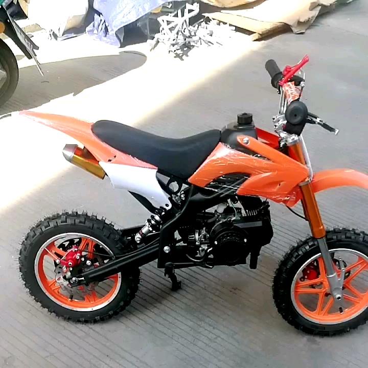 Minimoto 2 Stroke Minibike 49cc Dirt Pit Bike Voor Kids Kind 50cc Mini Pocket Moto Minicross