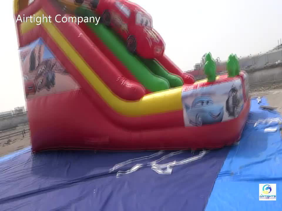 customized sizes inflatable slide for sale big inflatable slide with water pool