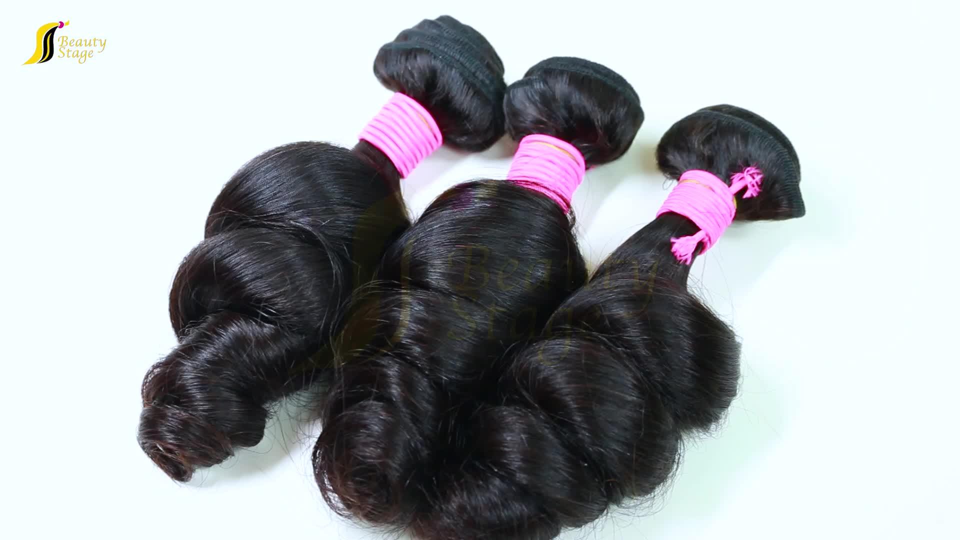 Aliexpress 10a grade diepe golf maagdelijke braziliaanse haar bundelt menselijk, groothandel virgin kbl brazilian hair weave bundels ted haar