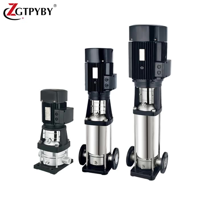 Electric Vertical Multi-stage pipeline centrifugal water pump price vertical multistage centrifugal pump