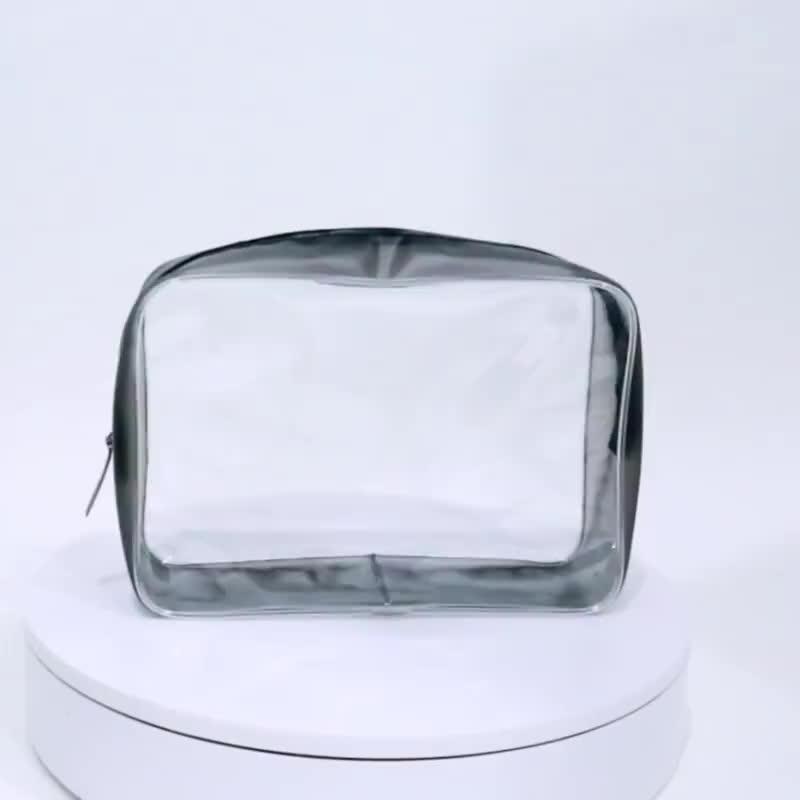 휴대용 주문 명확한 플라스틱 화장품 가방 파우치 Pvc