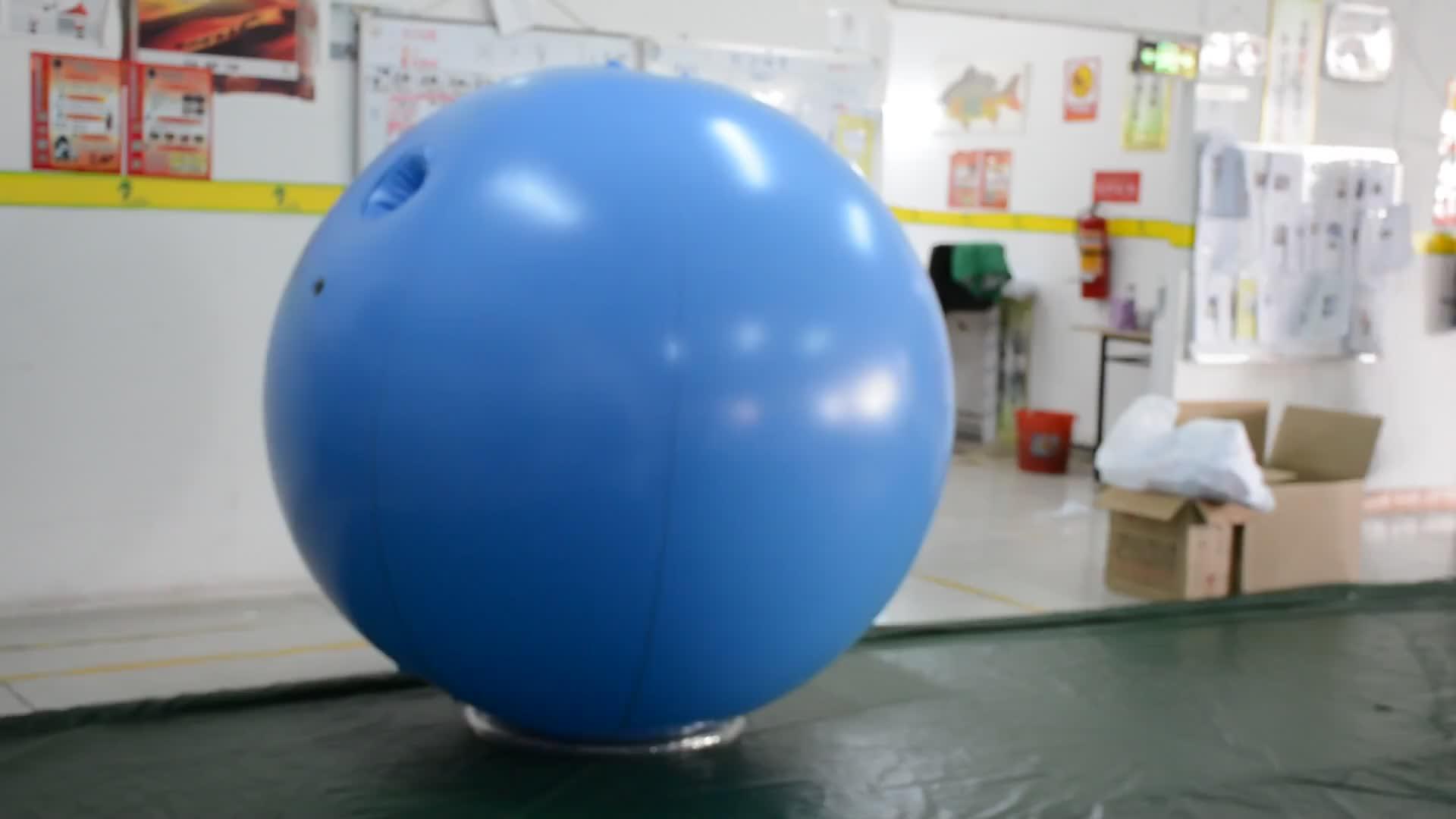 Body Inflatie Blueberry Pak Hongyi Opblaasbare Kostuum Bouncy Opblaasbare Bal Pak