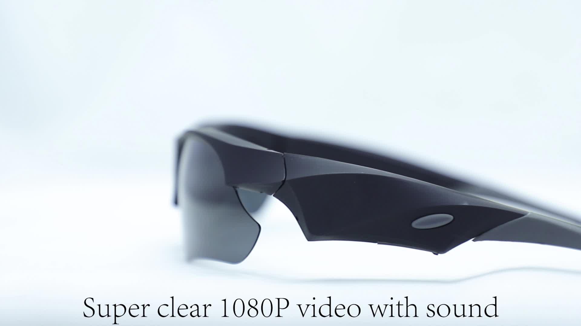 Eyeglass Polarized Lenses 1080p Recording Eyewear DVR POV Action Camcorder Record Audio and Video sg110 Record Sunglasses Camera