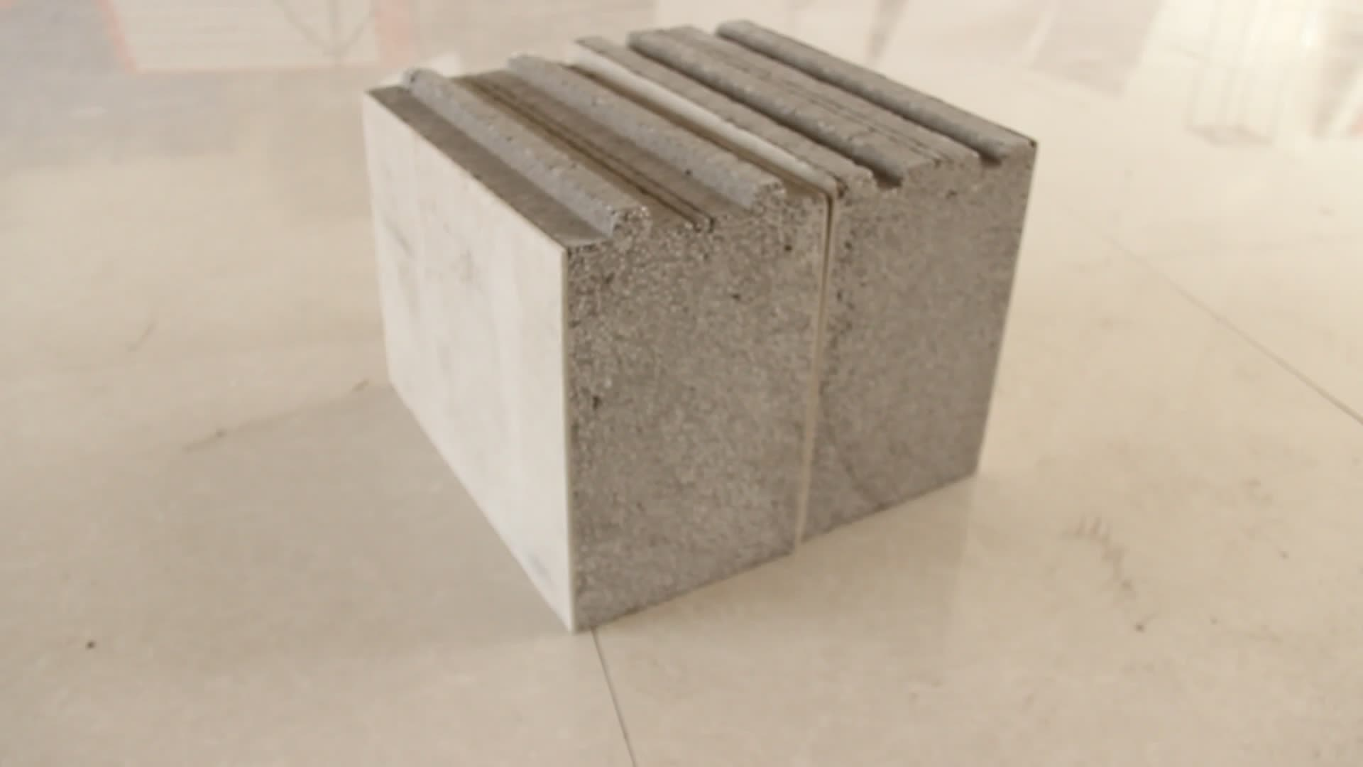 Sandwich panel fiber cement foam concrete wall panel