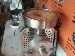 Maïs slijpmachine hele graan molen machine koffie cacao bean poeder making machine