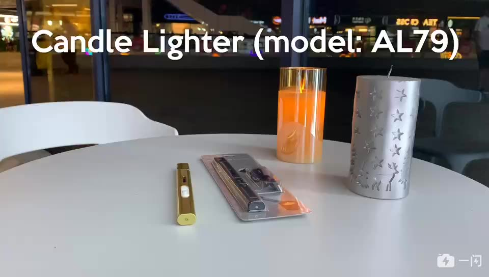 BBQ/Candle/Kitchen Electronic_lighters Arc with Upgrade Battery Indicator Triple Windproof Portable Plasma USB Electric Lighter