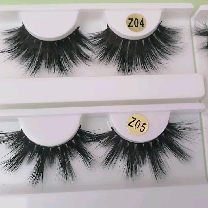 2019 New Products 3D 5D Mink Eyelashes 100% Real Mink Lashes Vendor Eyelashes,wholesale dramatic eyelashes 25MM 27MM Mink Lashes