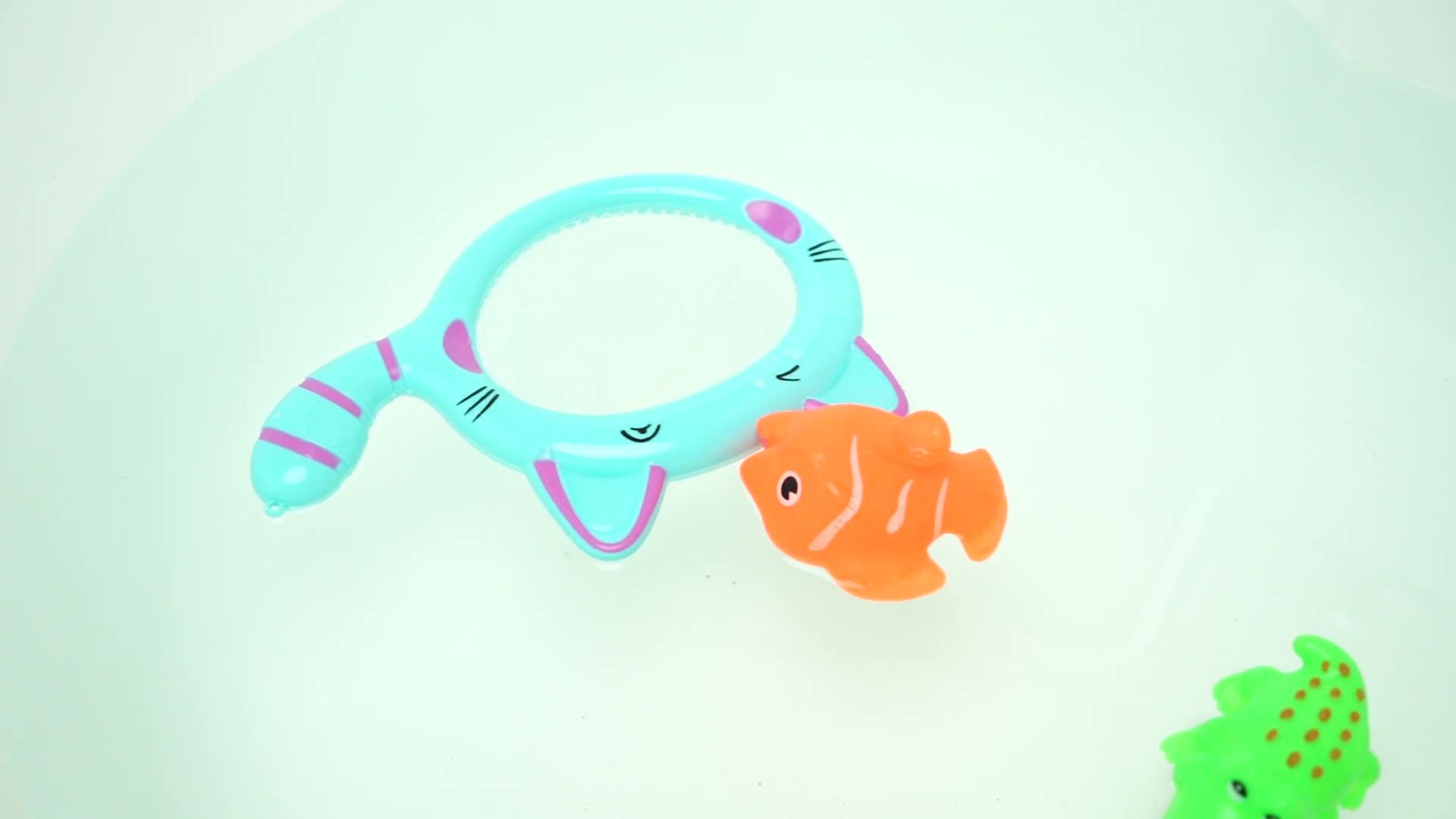 เด็กทารกของเล่นเต่าพลาสติกซ้อนและ Landing สุทธิของเล่น