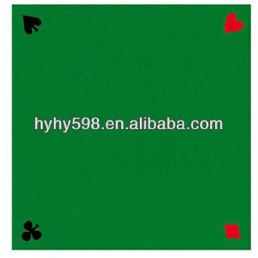 venda direta da fábrica de feltro de poker mat