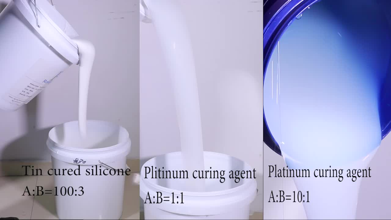 liquid silicone rubber for casting plaster gypsum mold making