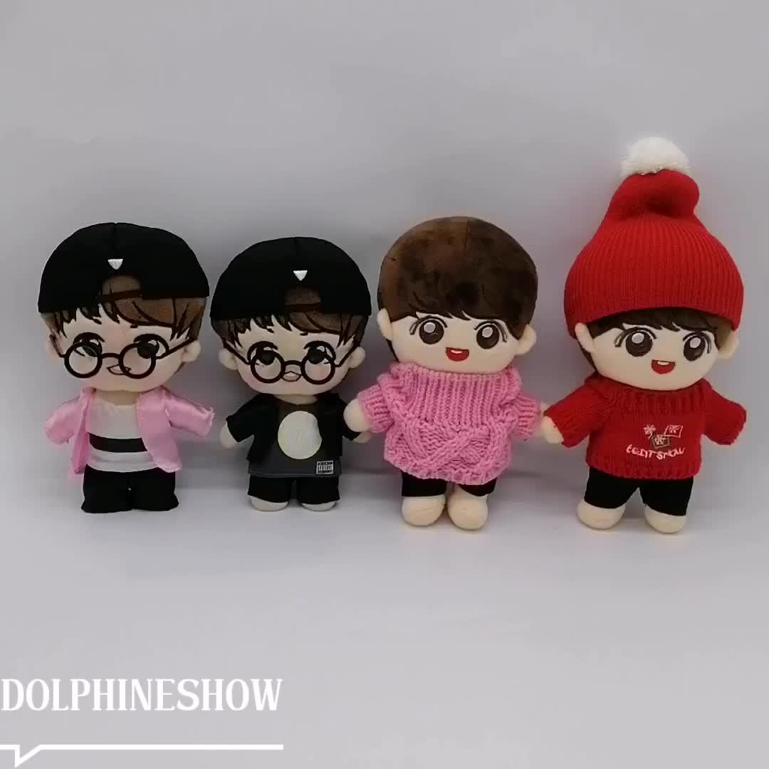 OEM डिजाइन प्रशंसकों के लिए मसौदा कार्टून चरित्र आलीशान भरवां गुड़िया खिलौना