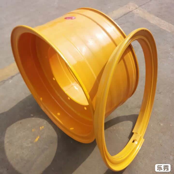 Customized made 13-24 industrial loader steel wheel rims