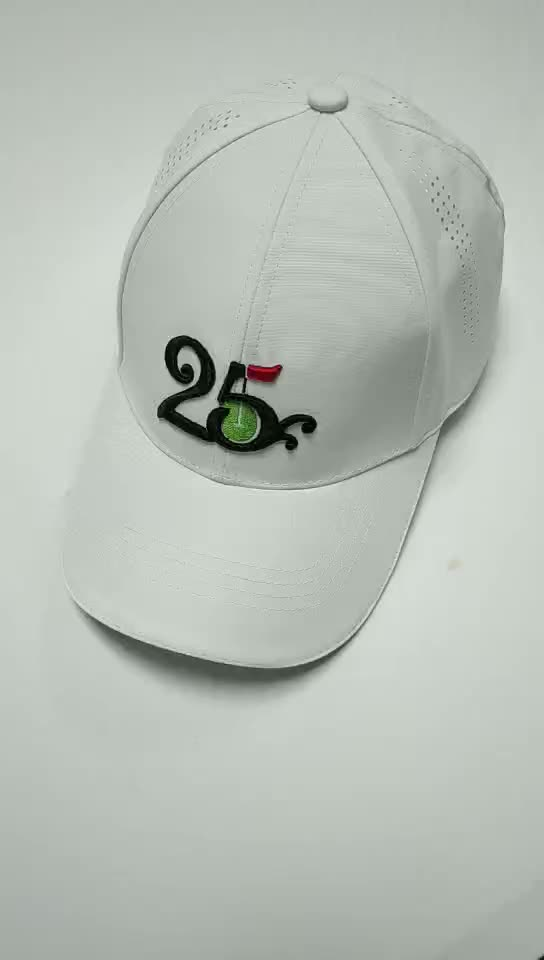 Fabriek Shenzhen golf concurrentie custom hoed, high-end sfeer golf cap