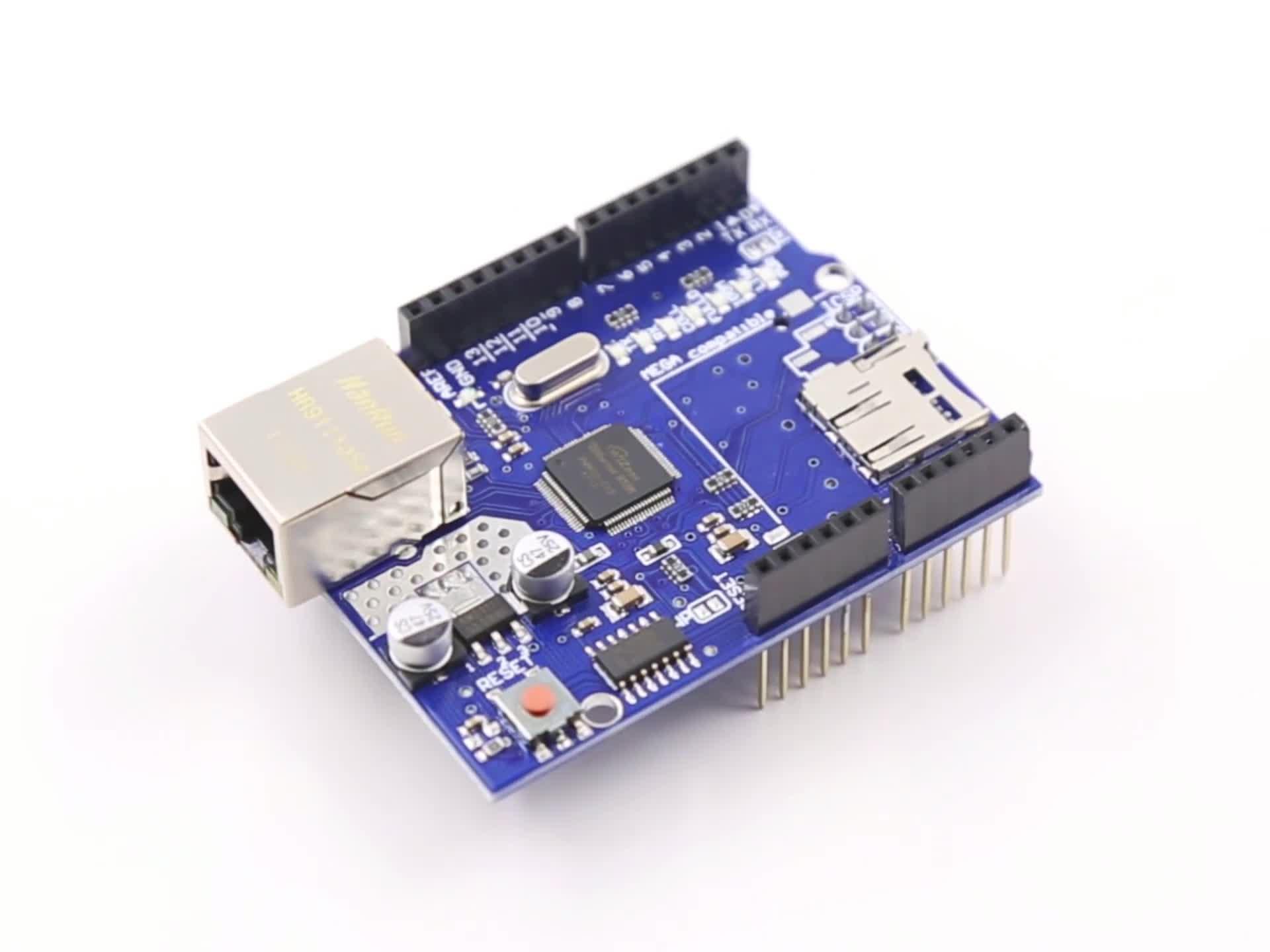 Réseau Ethernet LAN W5100 Bouclier D'extension Du Module pour UNO Mega 1280 Méga 2560