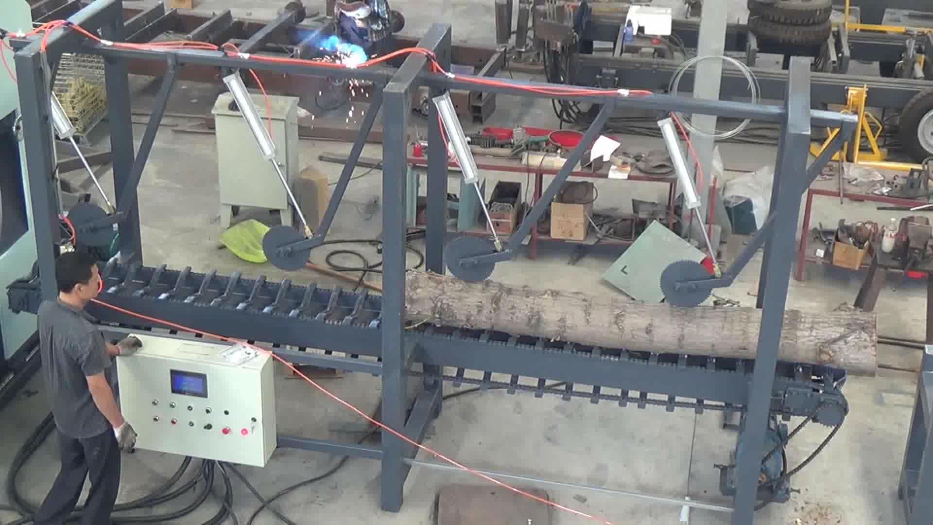 çoklu kafa bandı kereste fabrikası ikiz setleri dikey şerit testere fabrikası