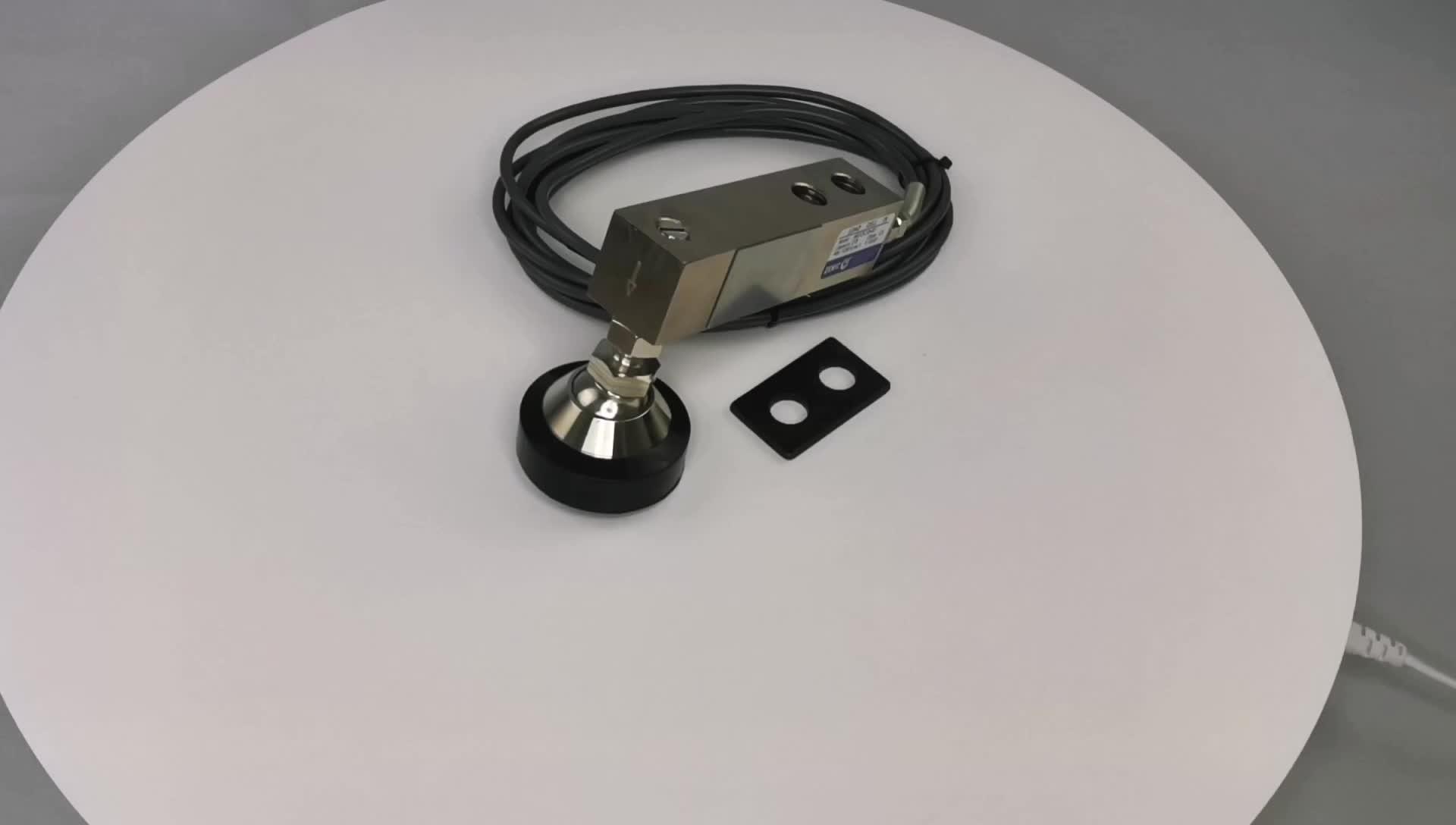 1000 キロ ZEMIC 負荷重量センサ H8C 計量ロードセル 500 キロ 1t 2T 5ton