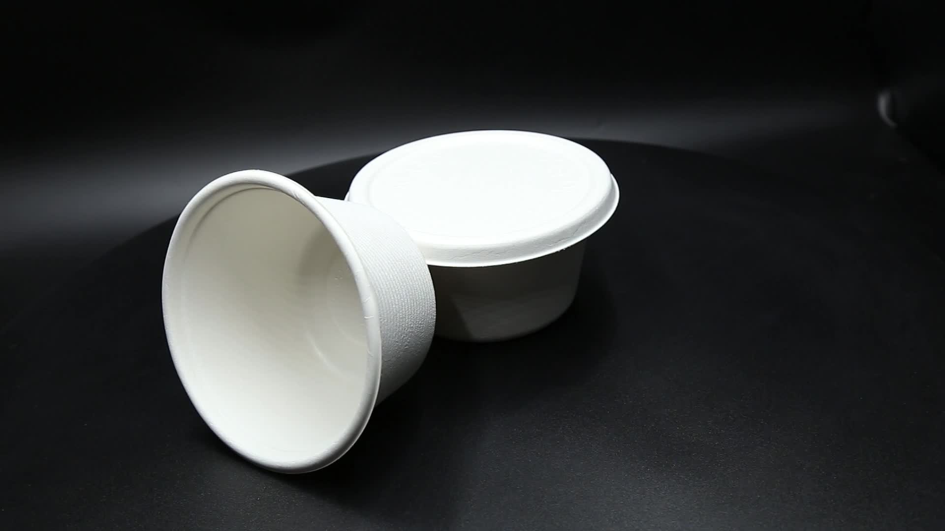 Wheat Straw Compostable Salad Soup Bowl Disposable