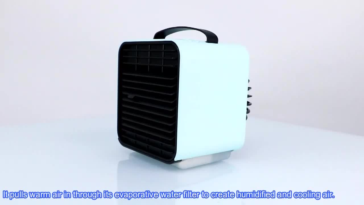 2019 New Electric AirConditioners Cooling Humidifier Fan DC USB Mini Portable Air Conditioner