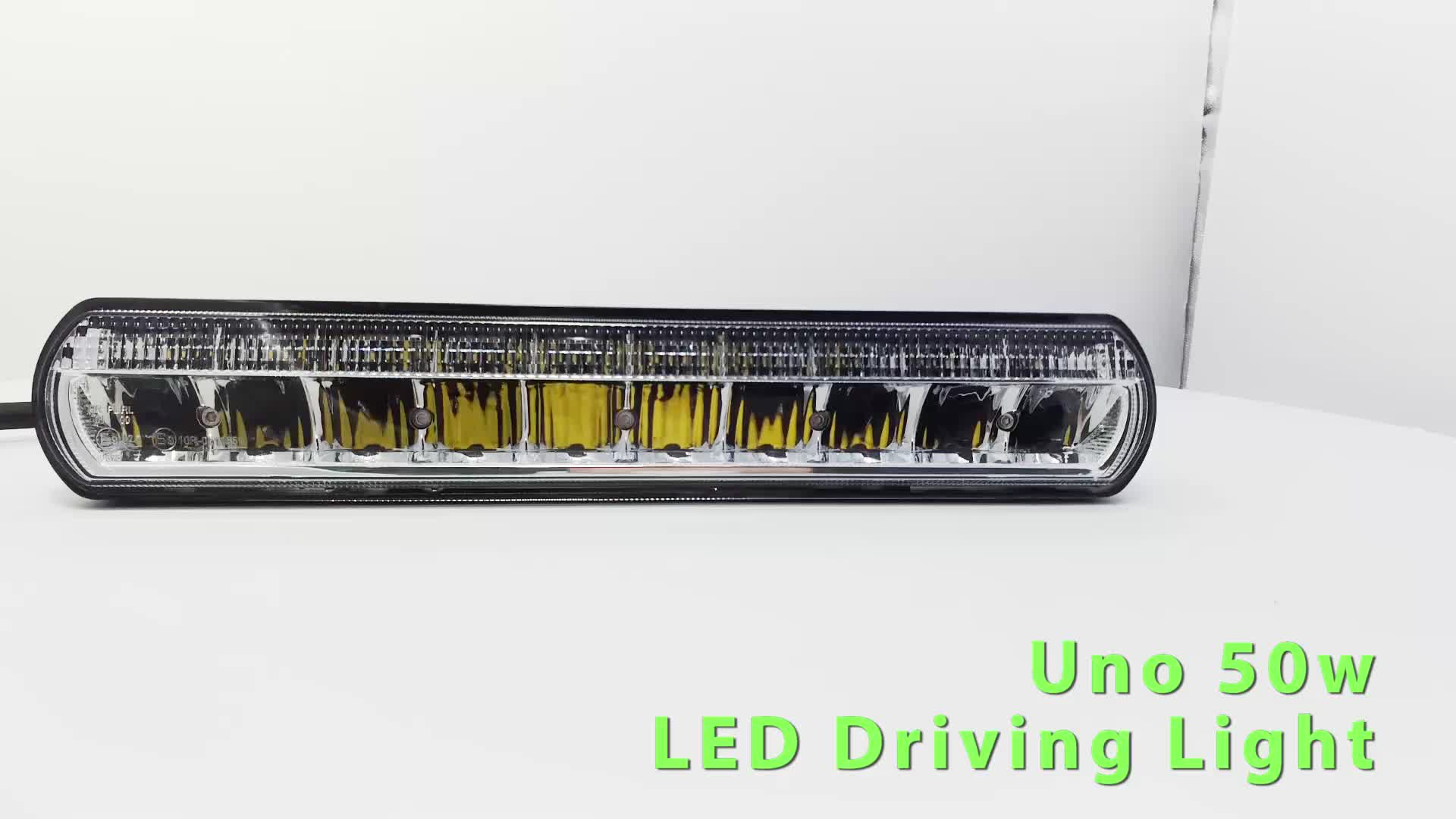 Uno Or Duo Row 50W 100W R112 R10 R87 LED Driving Light