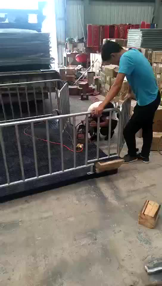 A12e platform heavy duty 10 3 ton weighing scale animal 2 1 ton cattle weighing scale with printer