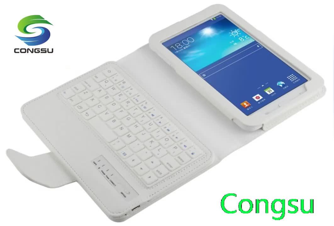 Detachable bluetooth keyboard flip stand for Galaxy Tab Pro 8.4 T320