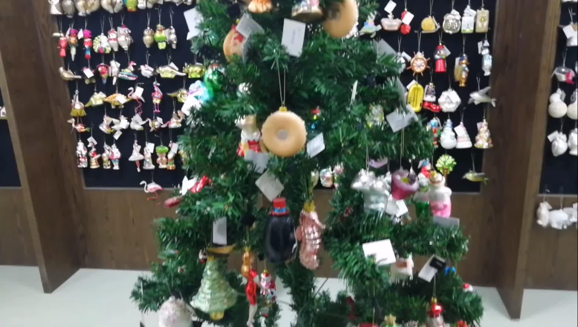 New Style Fashionable Christmas Animal Ornaments Glass Giraffe Ornaments