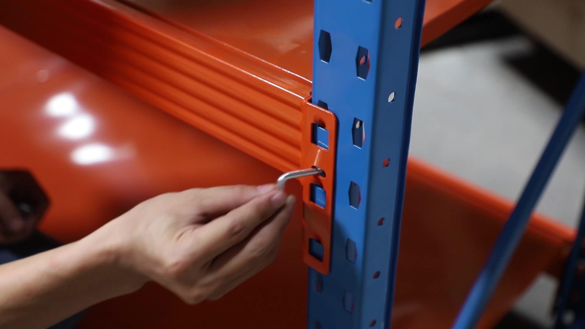 הדה יצרן CE כבד החובה תעשייתית לערום פלדת מדף אחסון מתלה עבור מפעל לערום מחסן מדפים ומדפים