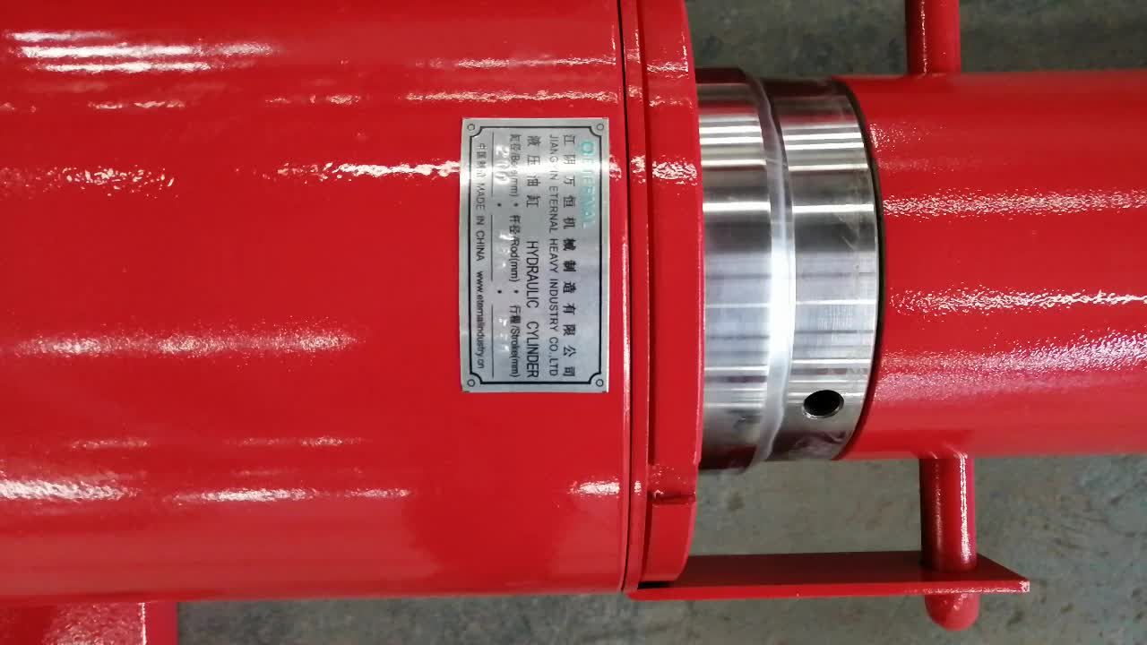 Hydraulic cylinder/jack  for petroleum drilling machinery EH-200-160-550 Z16