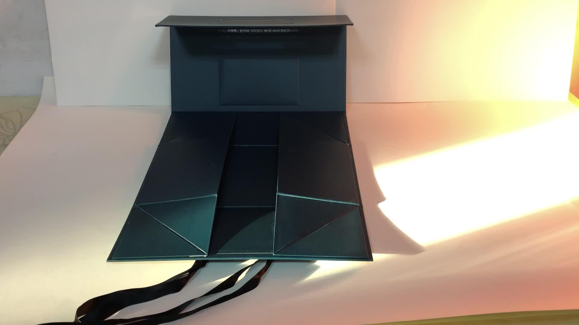2020 Fashion Luxury Gift Paper Box For Garments circle gift Folding Clothing Boxes Qiyuan Packaging