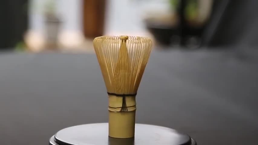 Handmade Matcha Green Tea Accessories Bamboo Whisk Chasen With OEM