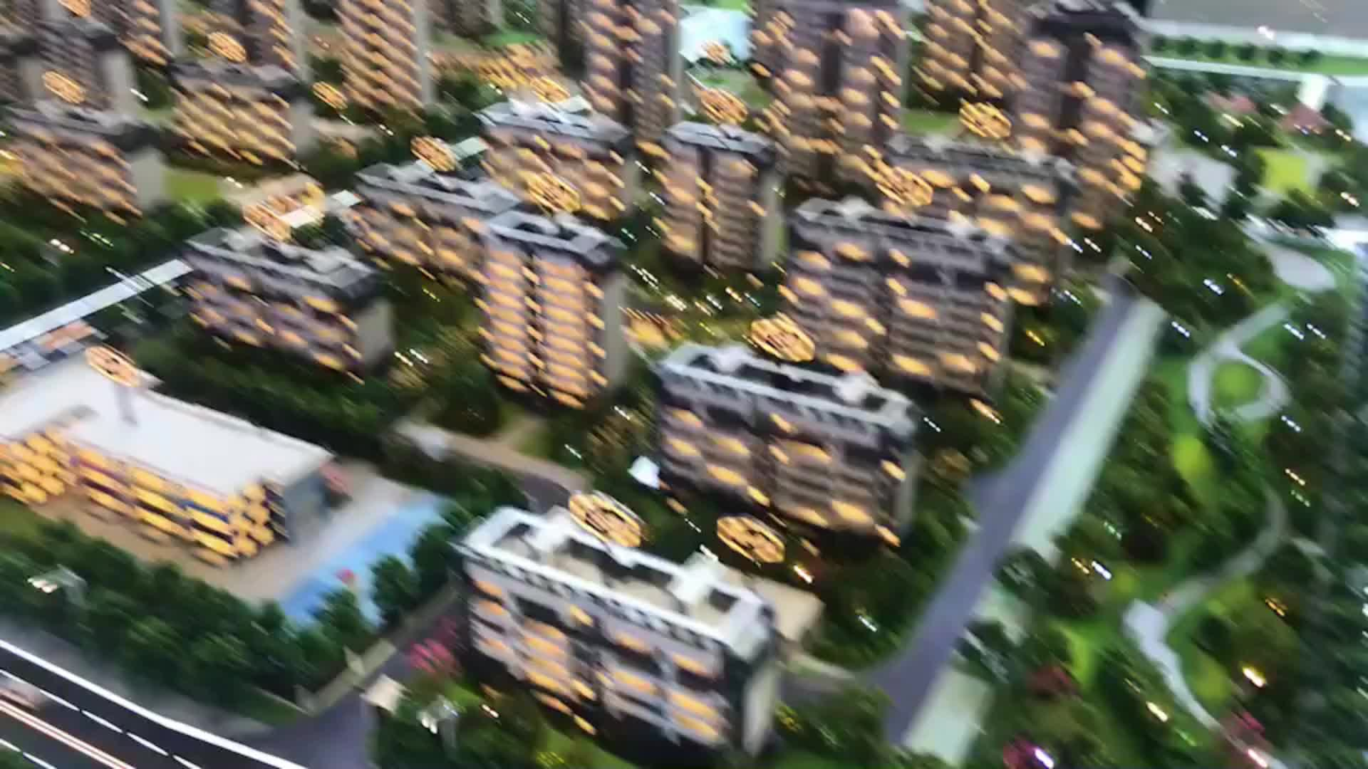 Commercial model building maker  high rise scale model tower
