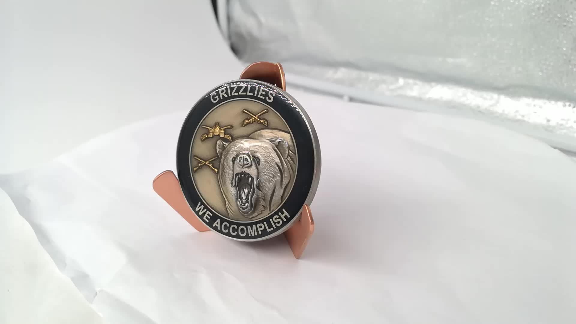 Hot sale custom antiqu logo sale old metal souvenir challenge coin