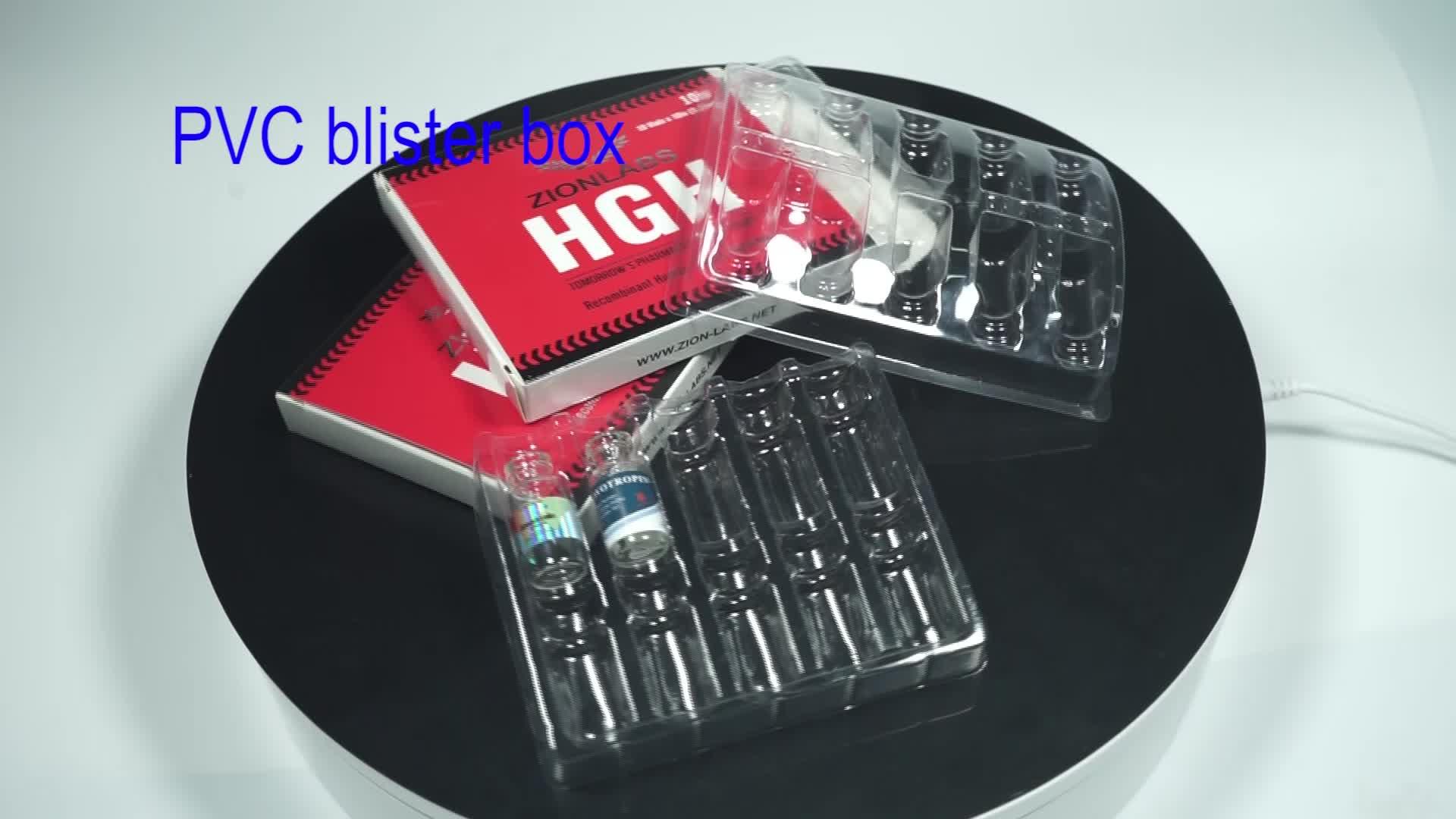 कस्टम चिकित्सा गोली बोतल कागज बॉक्स पैकेजिंग
